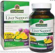 NEW NATURE'S ANSWER LIVER SUPPORT VEGAN HERBAL COMBINATION DAILY BODY HEALTHY
