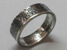 Münzring 1 Mark Deutsches Reich 1915 Silber 0.900 GR 58 coin ring 7 mm