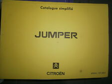 Citroën JUMPER 1994 à 2002 : catalogue pièces d'origine
