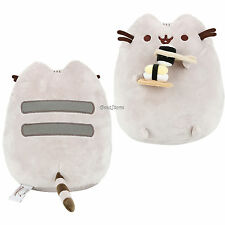 "Pusheen Sushi Facebook Cat Susheen 9"" Plush with Chopsticks Gund Stuffed Toy NEW"