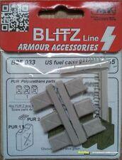 CMK Blitz Line U.S. Benzinkanister 6 Stück  WWII  1:35