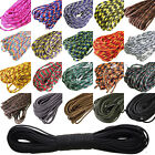 NEW 550 Paracord Parachute Cord Lanyard Mil Spec Type III 7 Strand Core 100 FT@#
