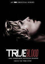 True Blood: The Complete Seventh Season (DVD, 2015, 4-Disc Set) Brand New Sealed