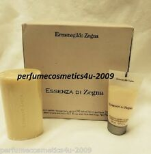 ESSENZA DI ERMENEGILDO ZEGNA TRAVEL AFTER SHAVE EMULSION 20 ML SCENTED SOAP 75 g