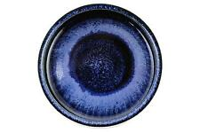 Un Carl Harry stalhane Ciotola per RORSTRAND Blu & Nero Smalto SVEDESE ART Pottery