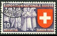 SWITZERLAND - SVIZZERA - 1939 - Esposizione naz. a Zurigo - 10 c. (in francese)
