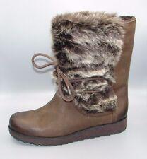 """""""Minx Jeanie""""Clark's Women/Ladies Dark Brown Leather Boots size 4 D."""