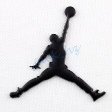 Black Jordan Emblem Badge Sticker Decal Auto Vehicle Accessories Decoration Trim