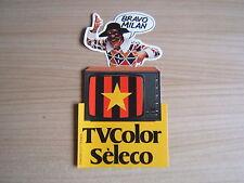 ADESIVO MILAN tvcolor Seleco=anni '70