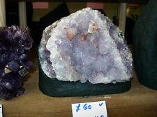 Amethyst geode specimen Dec 14 05