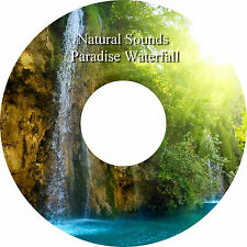 Natural Sounds Paradise Waterfall CD Calming Relaxation Deep Sleep Stress Relief