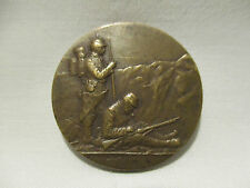 MEDAILLE BRONZE MILITAIRE POILUS H DROPSY OLD MEDAL ALTE MILITARIA WW1 1914 1918