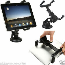 "Universal In Car Suction Mount Holder for iPad 4 3 2 1 Mini & Tablets 7"" To 11"""