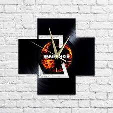 RAMMSTEIN vinyl wall clock