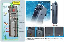 2015 SunSun JUP-23 13W UV Sterilizer Submersible Pump 150gal Aquarium Fish Tank