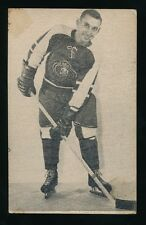 1952-53 St Lawrence Sales (QSHL) #14 GERRY PLAMONDON (Montreal) -Canadiens