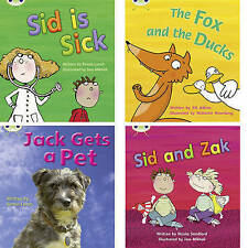 Learn to Read at Home with Phonics Bug: Pack 3 (Pack of 4 reading books with 3 f