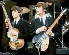 The Beatles John Lennon Paul McCartney in Music Concert 8x10 Photo 012