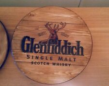 Glenfiddich  plaque wooden sign  mancave shed bar pub fathers day