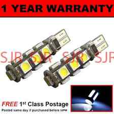 W5W T10 501 CANBUS ERROR FREE WHITE 13 LED NUMBER PLATE LIGHT BULBS X2 NP101801