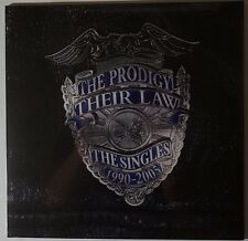The Prodigy - Their Law - the singles 1990-2005 2LP/MP3 180g silver vinyl NEU