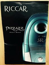 RICCAR PIZZAZZ VACUUM CLEANER OWNER'S MANUAL, OPERATION, TROUBLESHOOTING, 2008