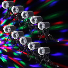 10X Mini Projector RGB DJ Disco Light Stage Lighting Show Xmas Party Laser New