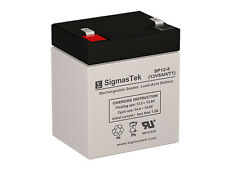 SigmasTek Replacement Battery For Power Sonic PS-1250 4.5 12V 5 AH F1 SLA