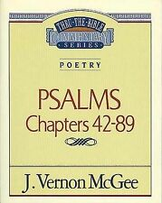 Poetry: Psalms II Chapters 42-89 by Dr J Vernon McGee (Paperback / softback)