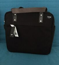 Jack Spade Travel Shell Case Carry On Bag Canvas 15x13 inch