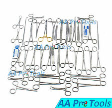 AA Pro: 91 Pcs Canine+Feline Spay Pack Veterinary Surgical Instruments