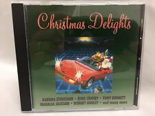 Christmas Delights CD ~ Barbara Streisand Bing Crosby Mahalia Jackson