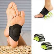 Portable Foot Heel Pain Relief Plantar Fasciitis Insole Pads Arch Support Insert