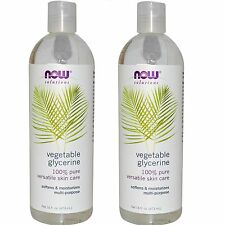 Glycerine Vegetable 16 fl oz, Now Foods (Pack of 2) FREE SHIPPPING!