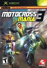 Motocross Mania 3 (Microsoft Xbox, 2005) COMPLETE Free Shipping!