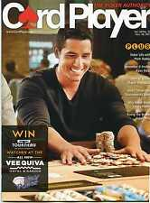 CARD PLAYER Poker Magazine 10/30/2013 Vee Quiva Hotel & Casino in Phoenix AZ