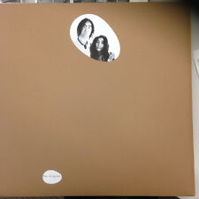John Lennon/Yoko Ono Unfinished Music Two Virgins WHITE VINYL LP Record beatles!