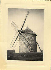 PHOTO ANCIENNE - VINTAGE SNAPSHOT - MOULIN À VENT - WINDMILL