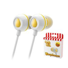 Candy Crush In-ear Headphones Amarillo Limón-Iphone Tablet Smartphone Ipad