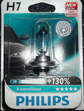 PHILIPS H7 Xtreme Vision UPGRADE BULB singolo H7 X-TREME VISION H7 +130% più Luce