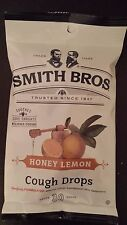 210 Cough Drops Smith Bros Brothers Honey Lemon (7) 30 Count Bags Exp 7/17