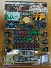 Cool Mini or Not  Zombicide: Black Plague Plastic Tokens Pack Set New
