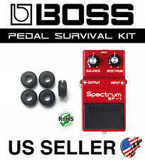 BOSS GUITAR PEDAL SURVIVAL KIT - UNIVERSAL GROMMET RUBBER O-RING SET OF 5