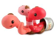 CAN OF WORMS PINK DESIGNER VINYL FIGURE BY ANDREW BELL