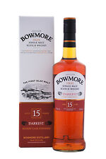 Bowmore 15 Years Darkest 43% Vol. 0,7l