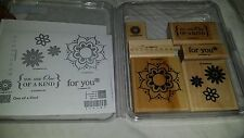 Stampin Up One Of A Kind Stamp Set flowers