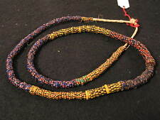 Antike Glasperlen Antique Venetian African trade Eja Aja Chevron beads Afrozip
