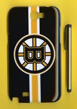 BOSTON BRUINS 1 Piece Glossy Case / Cover Samsung GALAXY NOTE 2 II (Design 2)