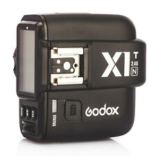 Godox X1T-N TTL 2.4GHz Wireless Flash Trigger Transmitter for Nikon DSLR Camera