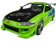 "1995 BRIAN'S MITSUBISHI ECLIPSE ""THE FAST & FURIOUS"" 2001 1/24 CAR BY JADA 97603"